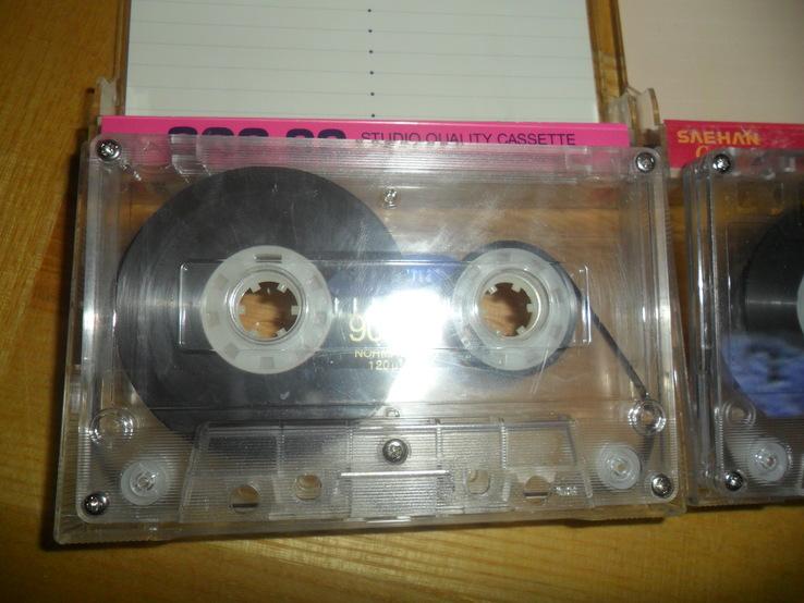 Аудиокассета кассета SQC Saehan KonicaT-Series Smat Prestige - 8 шт в лоте, фото №4