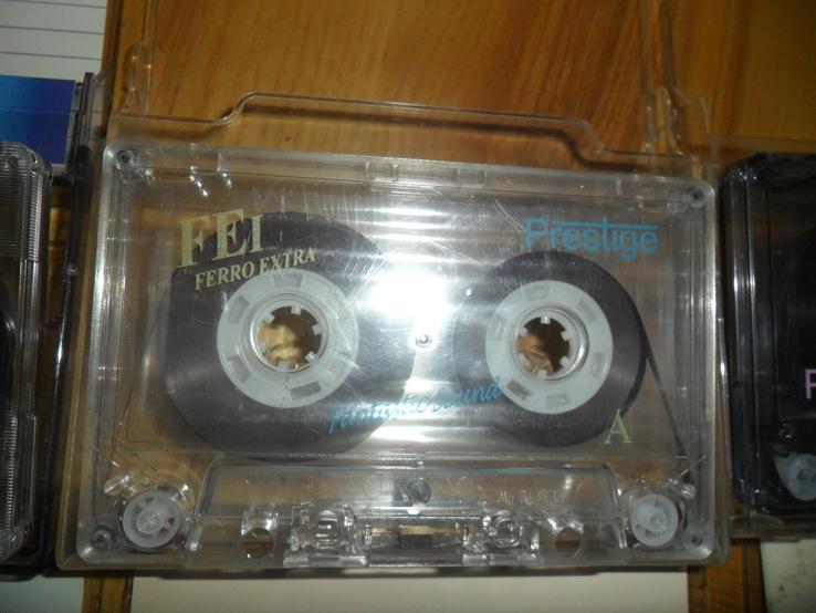 Аудиокассета кассета SQC Saehan KonicaT-Series Smat Prestige - 8 шт в лоте, фото №6