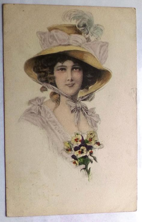 Девушка, США, 1910 г., фото №2