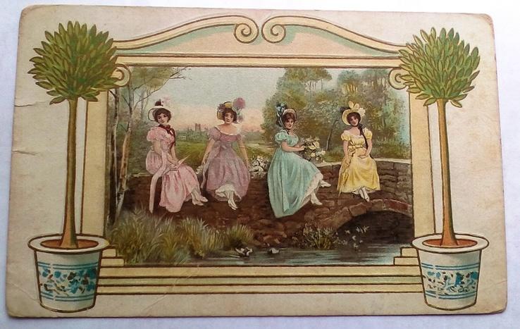 Девушки, США, 1914 г., фото №2