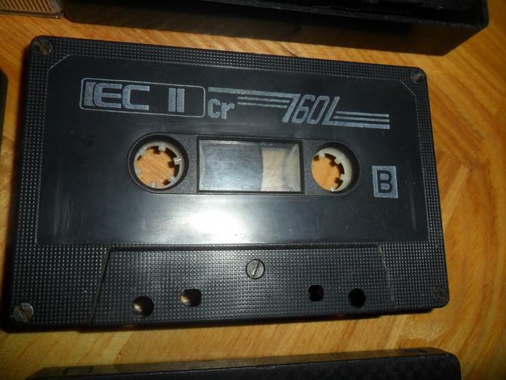 Аудиокассета кассета  - 9 шт в лоте, фото №6