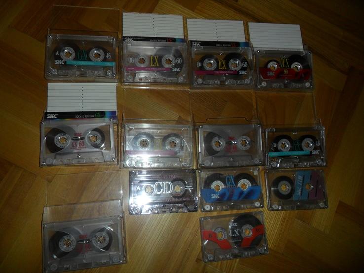 Аудиокассета кассета SKC - 13 шт в лоте, фото №2