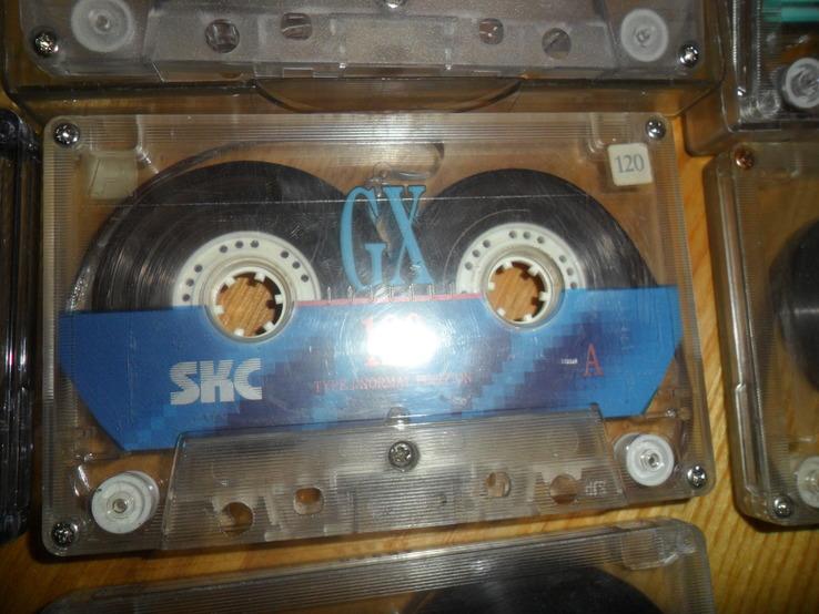 Аудиокассета кассета SKC - 13 шт в лоте, фото №10
