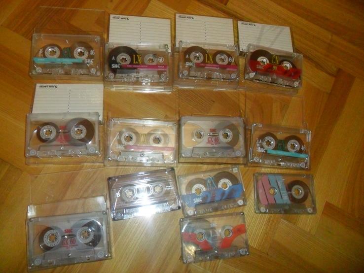 Аудиокассета кассета SKC - 13 шт в лоте, фото №13