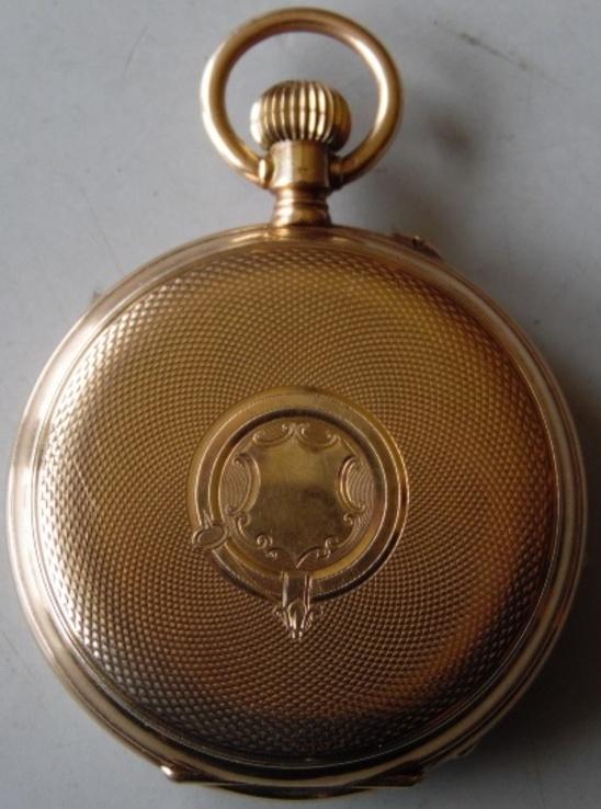 Часы ''Hy Moser''. Золото 56 пр