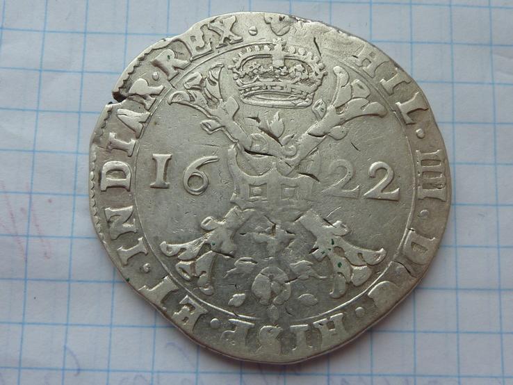Талер Патагон Испания 1622 год
