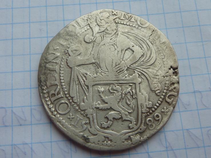Талер Левковый Холланд 1589 год