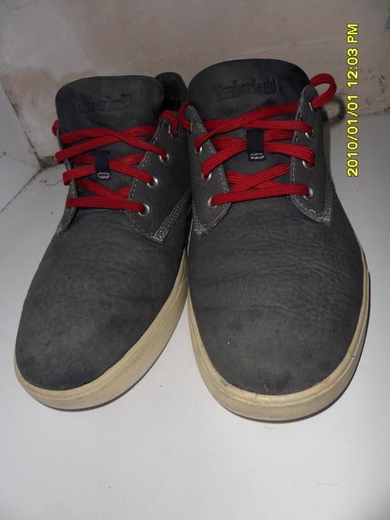 Кожаные кроссовки Green Rubber 44 стелька 28см