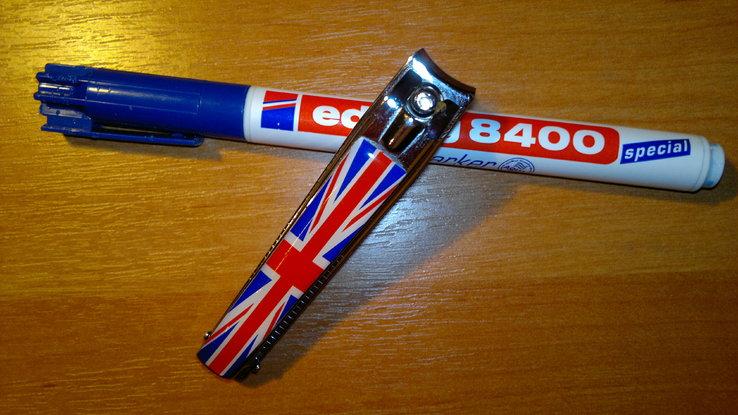 Коллекционный брелок с флагом Британии, фото №2