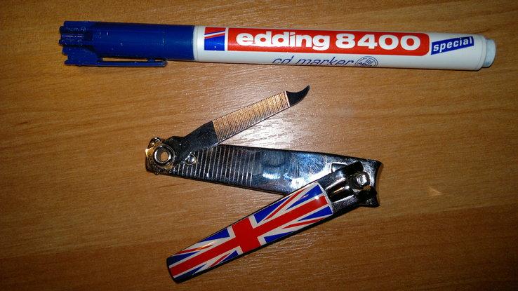 Коллекционный брелок с флагом Британии, фото №3