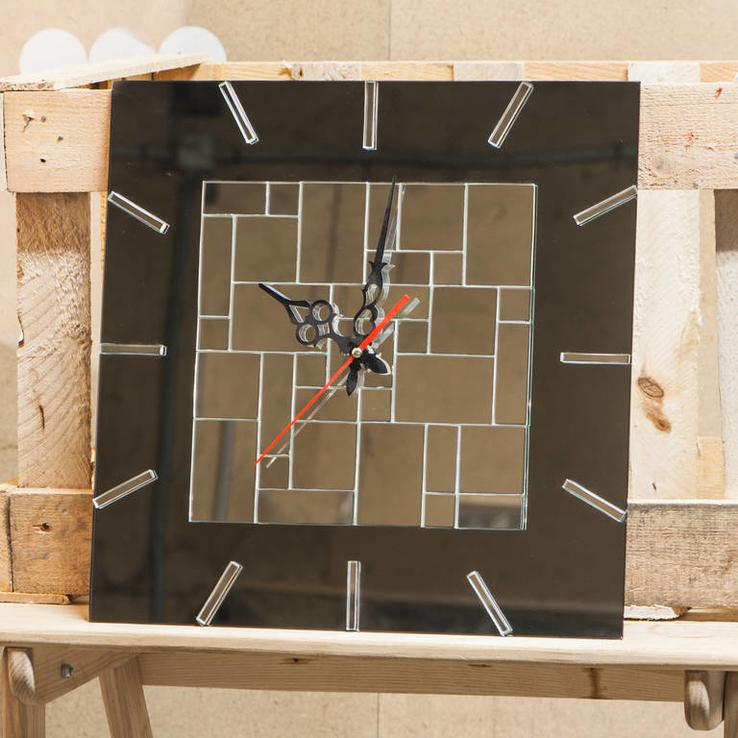 Часы настенные бесшовная мозаика