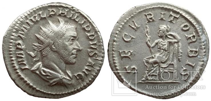 Антониниан имп. Филипп I 244-247 гг н.э. (75_103)