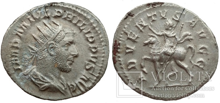 Антониниан имп. Филипп I 245 г н.э. (75_105)
