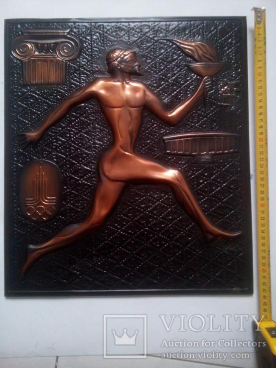Картина спортсмена на олимпиаде