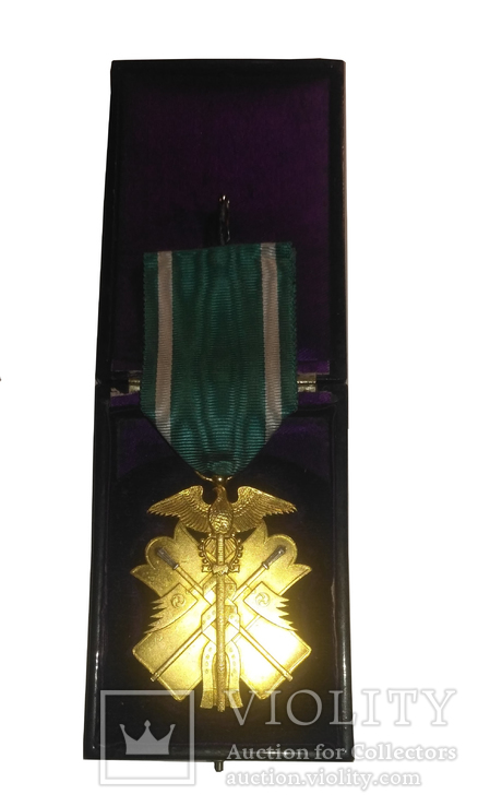 Японский императорский военный орден Золотого Сокола VI степени, фото №2
