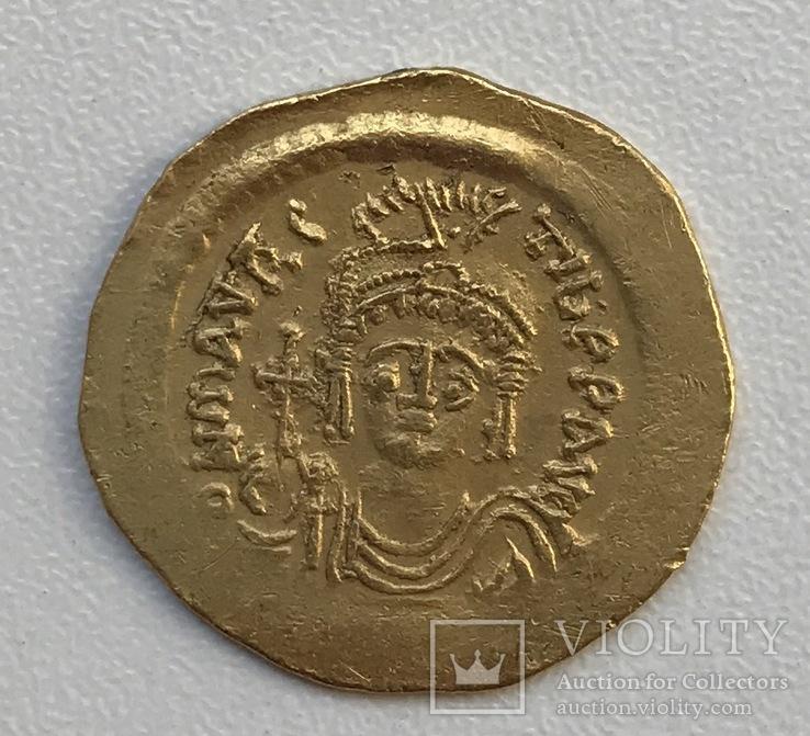Солид Маурисио Тибериуса 582-602