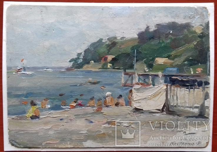 Г. Одесса, пляж. 1955 г. Костенко Ф.Т.