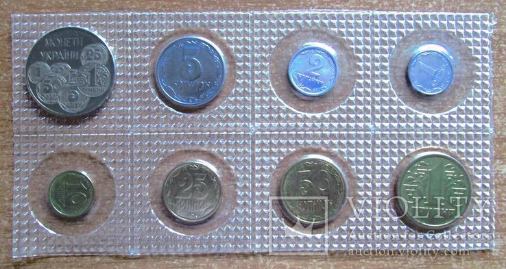 Нобор монет Украины 1996 года   В запайке.