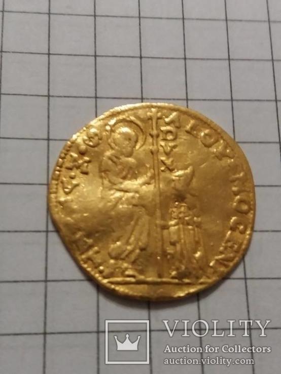 Цехин Альвизе 2-й Мочениго (АЛОЙ-МОКЕНИ) 1700-1709