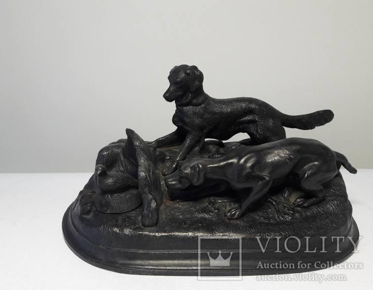 Собаки на охоте - Касли 1959 г