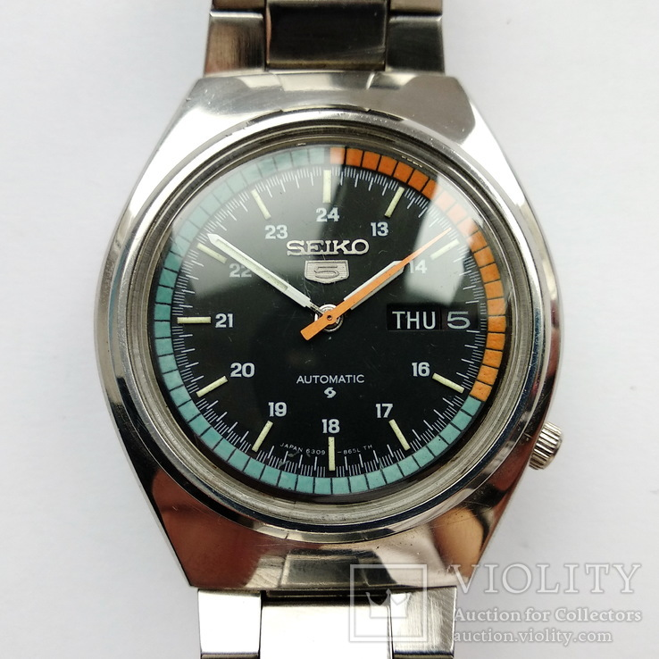 Часы Seiko Sportura Japan 6309A 1980-е