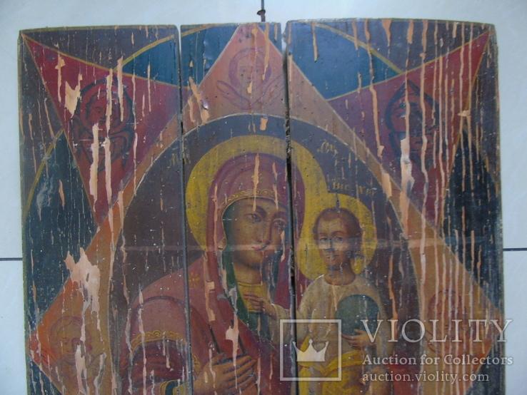 Неопалимая Купина. Большая церковная икона, фото №4