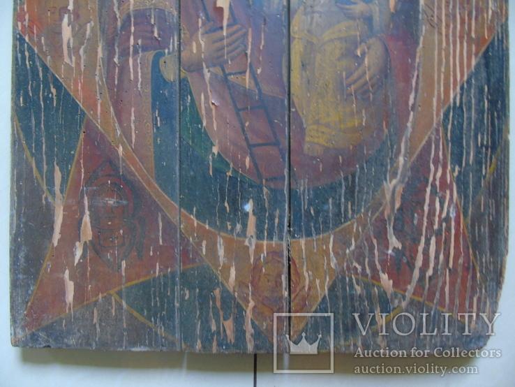 Неопалимая Купина. Большая церковная икона, фото №5