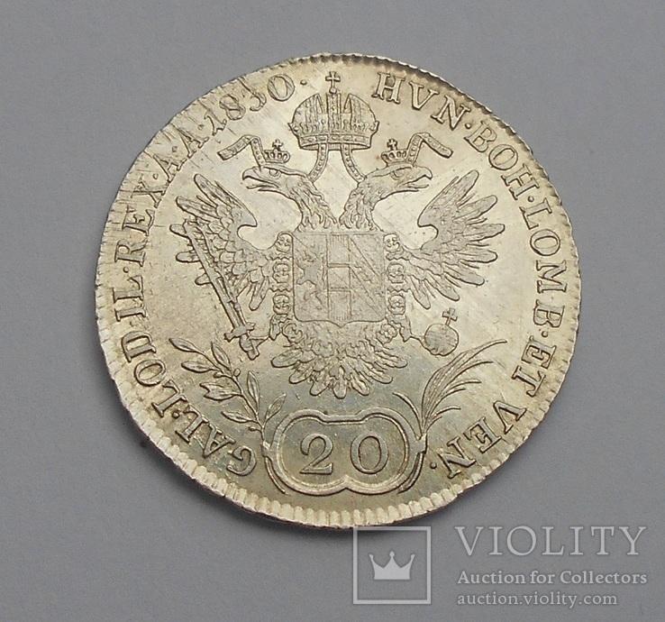 20 Крейцеров 1830 Австрия