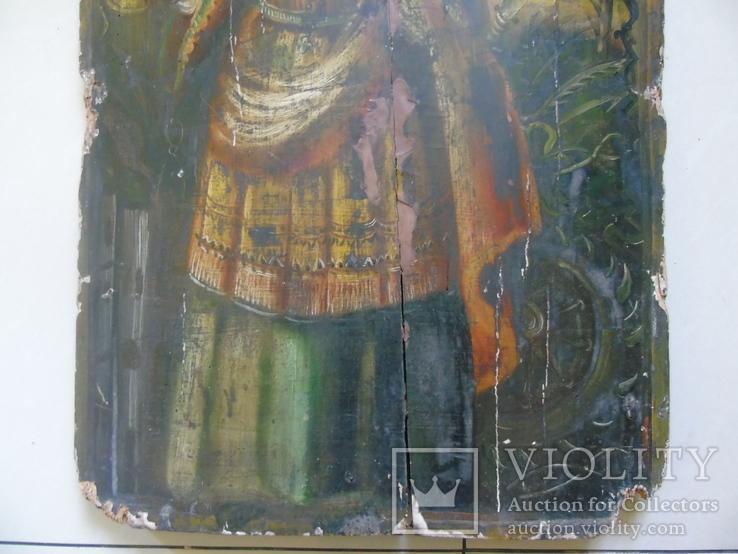 Варвара. Большая церковная икона, фото №5