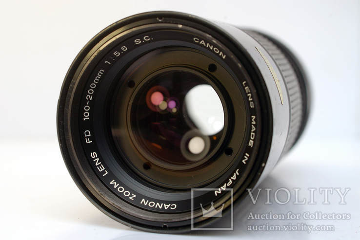 Canon Zoom Lens FD 100-200mm f5.6 S.C., фото №4
