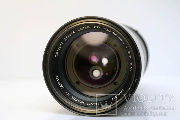 Canon Zoom Lens FD 100-200mm f5.6 S.C., фото №6