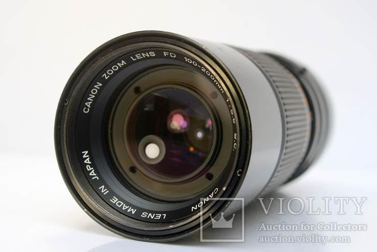 Canon Zoom Lens FD 100-200mm f5.6 S.C., фото №7