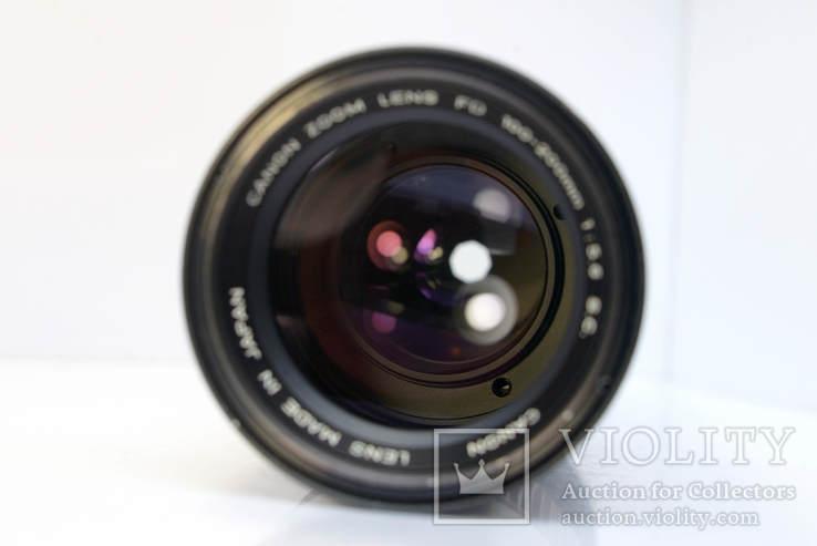 Canon Zoom Lens FD 100-200mm f5.6 S.C., фото №8