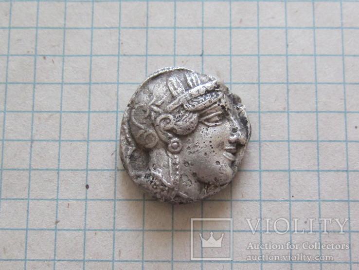 Афины тетрадрахма.