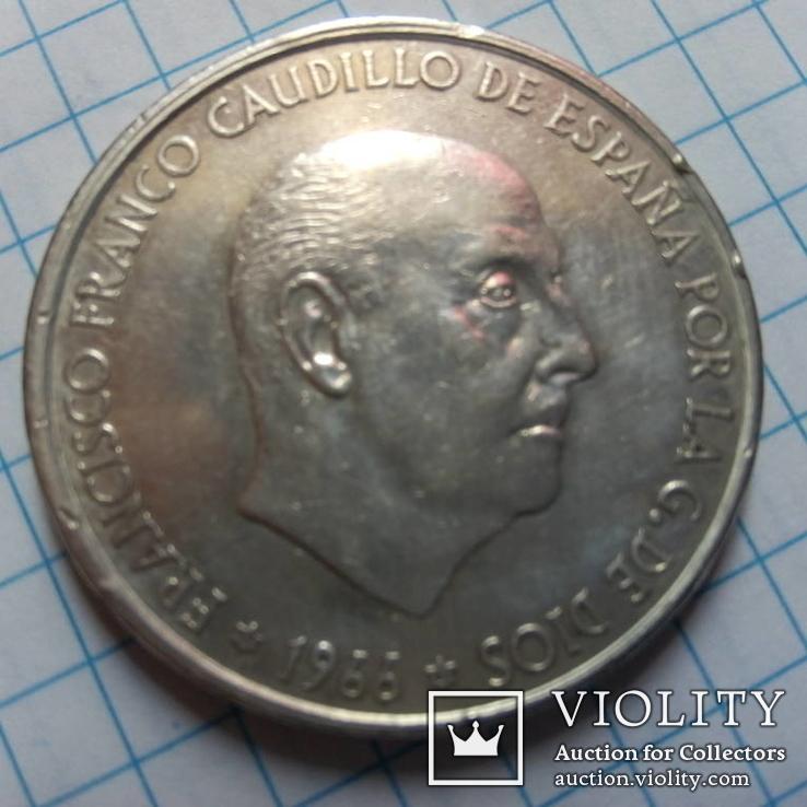100 песо 1966р Іспанія