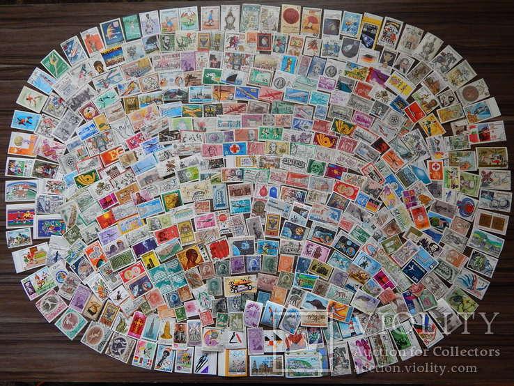 Иностранные марки 400 шт.