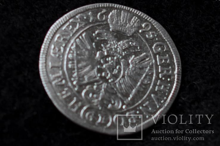 3 крейцера Леопольда 1695 г.  G.E