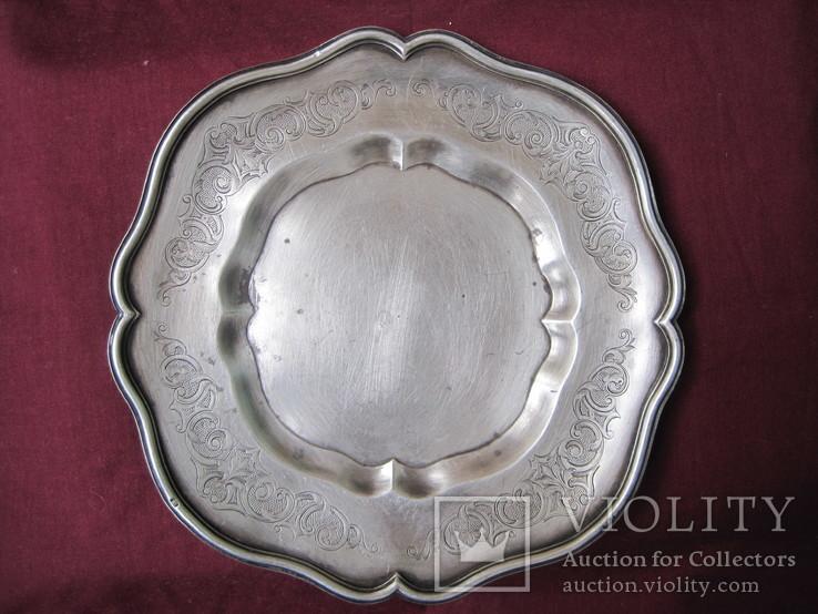Срібнна тарілка 84
