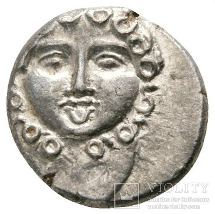 Срібна драхма Аполлонія Понтіка (350-250 до н. е.)