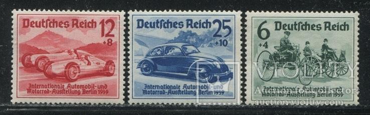 1939 Рейх  автомобили полная серия