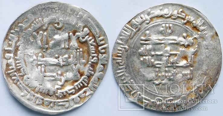 Дирхем4 Саманиды Исмаил б.Ахмад 293 г.х.Самарканд
