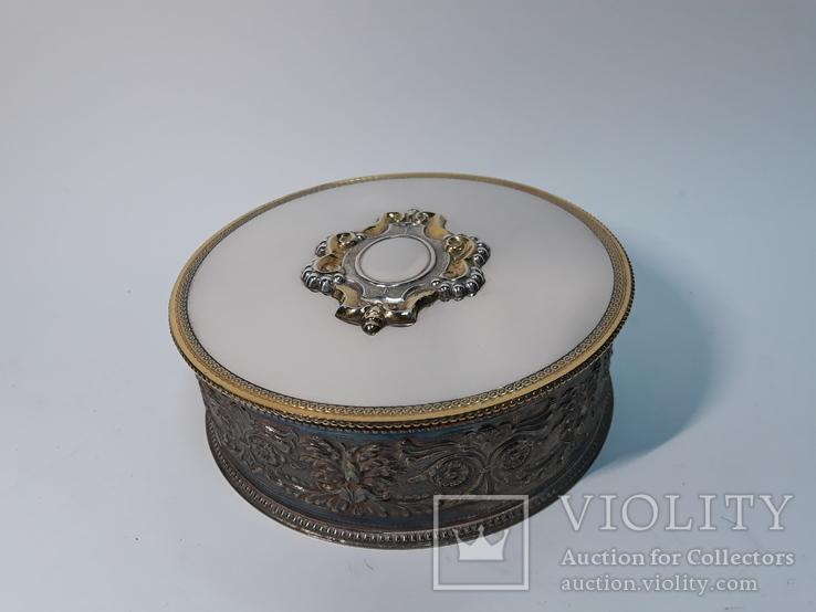 Шкатулка для украшений Biagini Italy ( серебро 800 пр. ) 310 грам