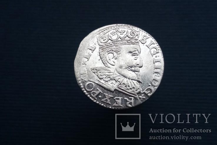 Трояк 1596 р, Рига