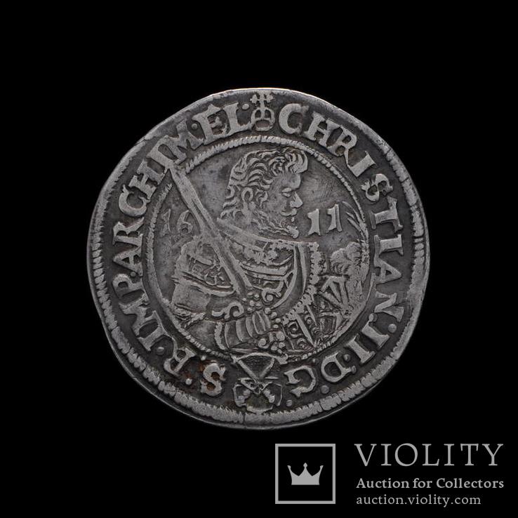 Півталер 1611 р. Саксонія