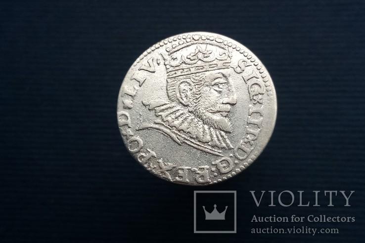 Трояк 1593 р, Рига