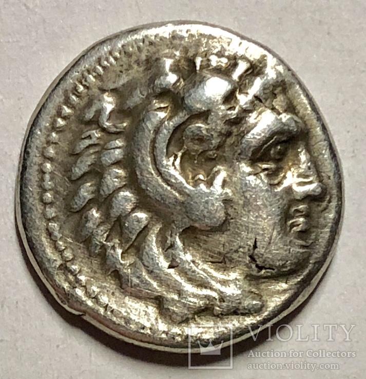 Александр III Великий, драхма