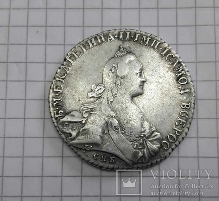 Рубль Екатерины 1771 г