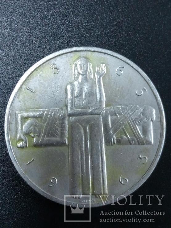 Швецария 5 франк 1963 год
