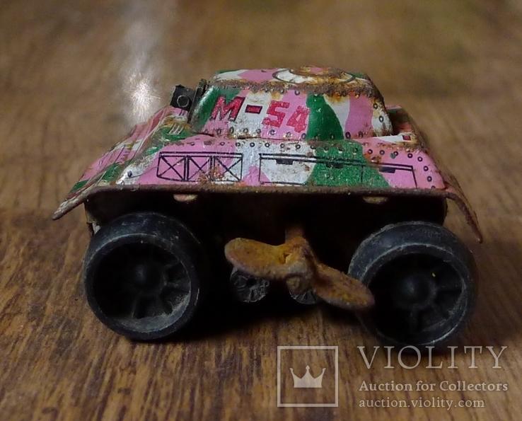 Заводной танк из жести., фото №2