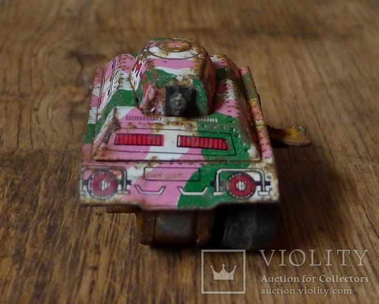 Заводной танк из жести., фото №3